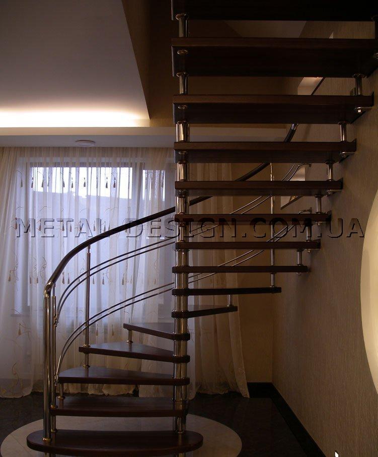Лестница винтовая на второй этаж в частном доме своими руками
